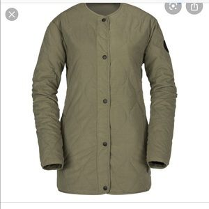 Volcom jacket liner insulated - military - small